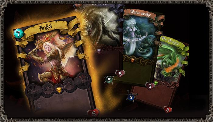 TCG Card Fantasy Design