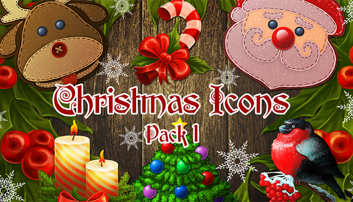 Christmas Icons. Pack 1