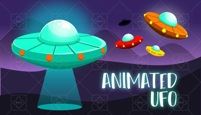 Animated UFOs