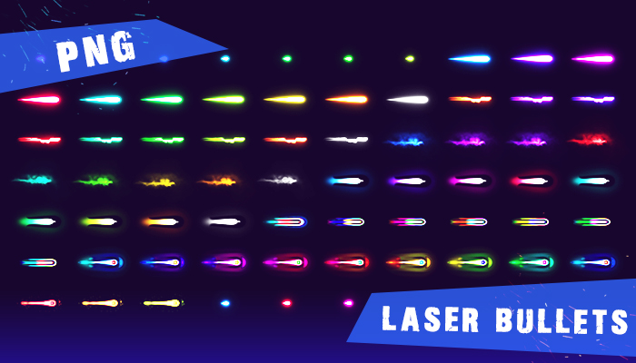 Lasers Bullets Pack