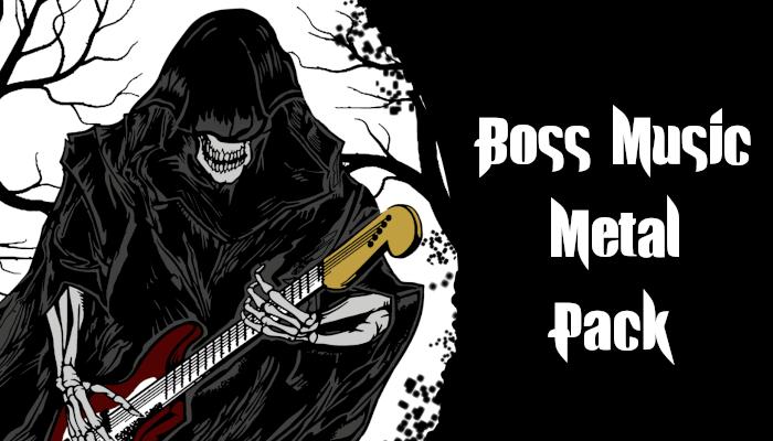 Boss Music Metal Pack