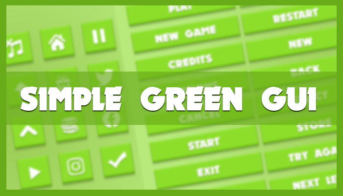 Simple green GUI