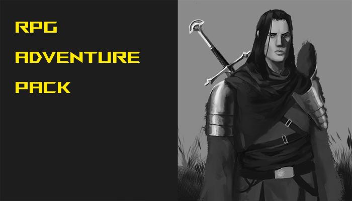 RPG fantasy adventure pack