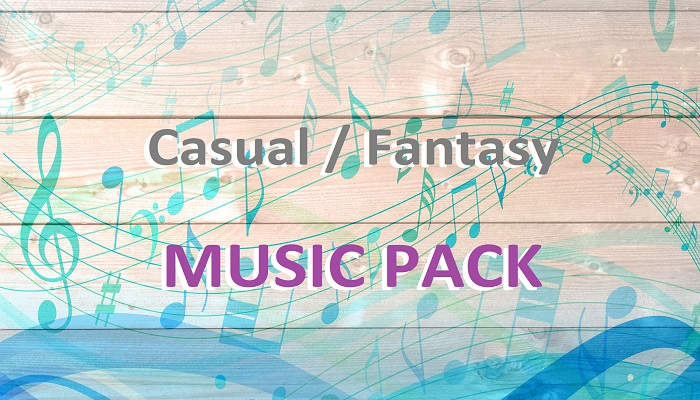 Casual / Fantasy Music Pack
