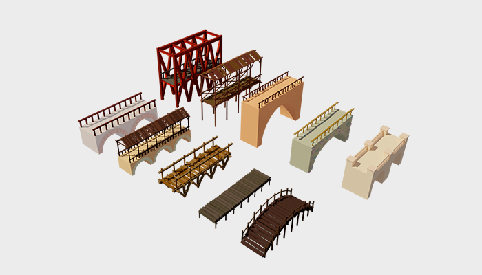 bridge pack (stylized)