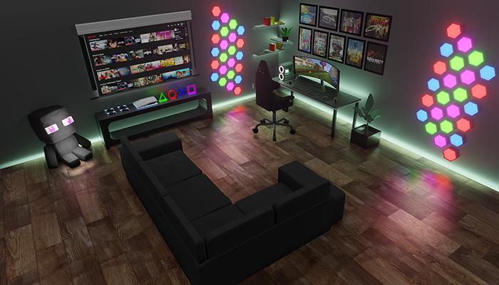 Gaming Room Interior Design