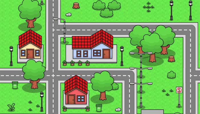 2D Simple Building