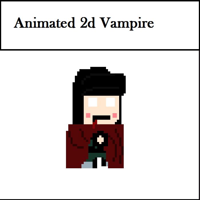 Animated 2d Vampire