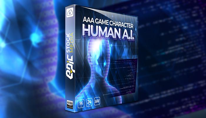 AAA Game Character Human AI