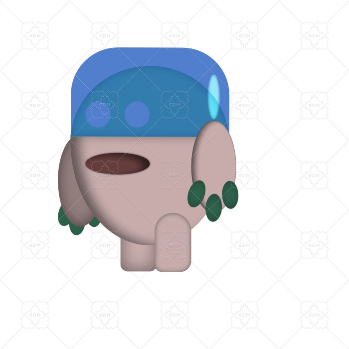 UFO Character for 2D