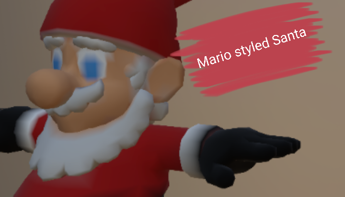 Maryo inspired Santa Claus