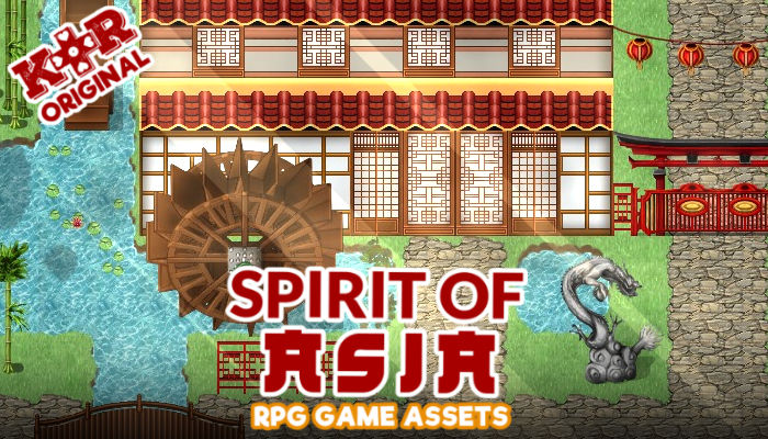 Spirit of Asia RPG Tiles