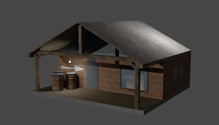 Industrial House + Barrels