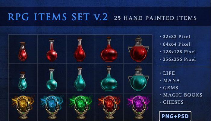 RPG Items Set v.2