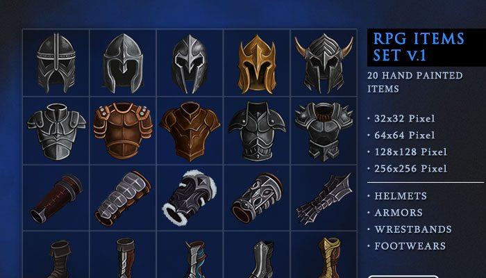 RPG Items Set v.1