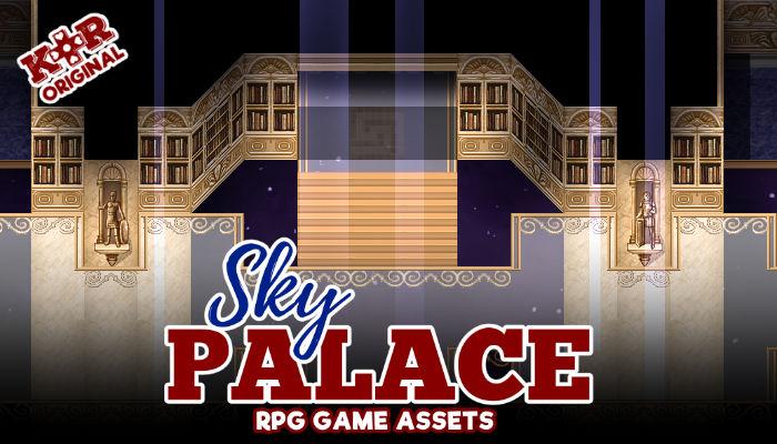 Sky Palace RPG Tileset