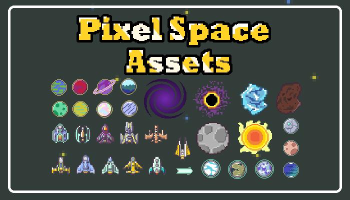 Pixel Art Space Asset Pack