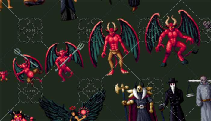 RPG Monsters – Demonic Pack