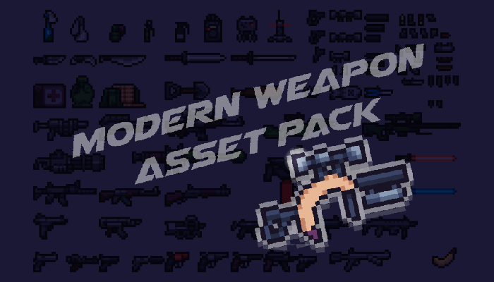 Pixel Weapon Pack