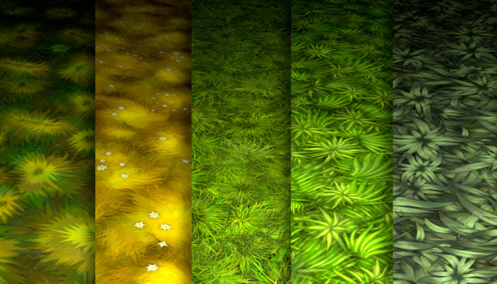 Stylized Grass Vol 21 – Hand Painted Texture Pack