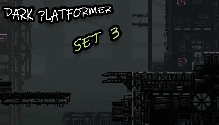 Dark Platformer SET3