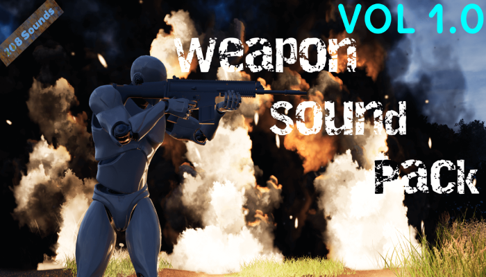 Weapon Sound Pack Vol 1.0