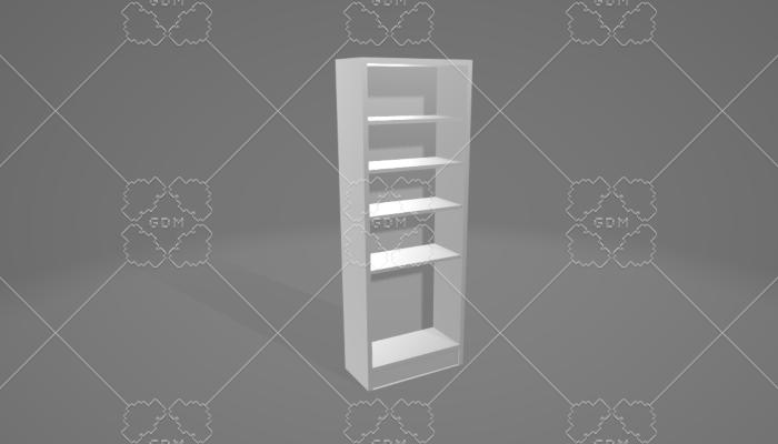 bookshelf (5 shelf)