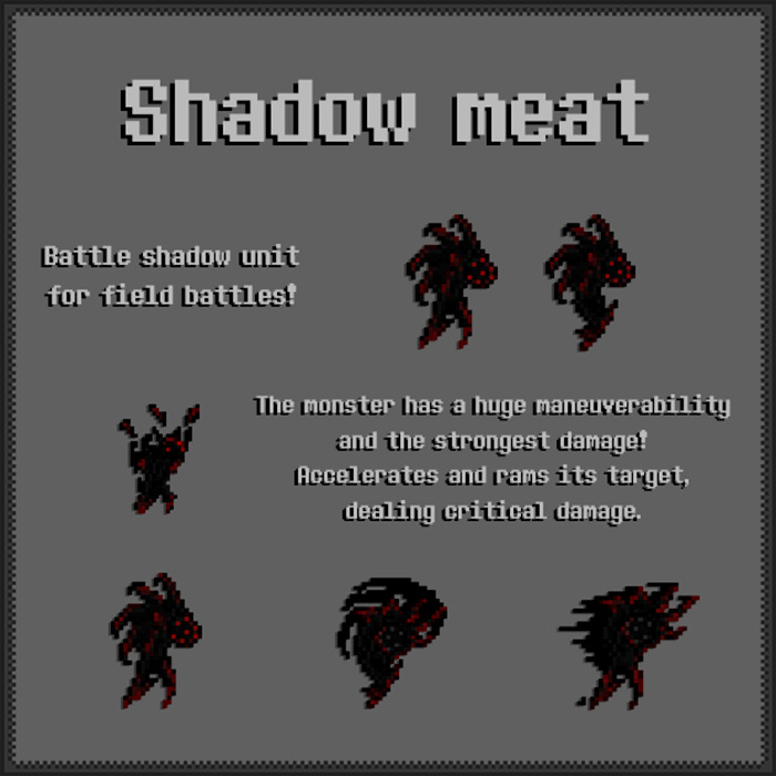 Shadow Meat – Mob Asset