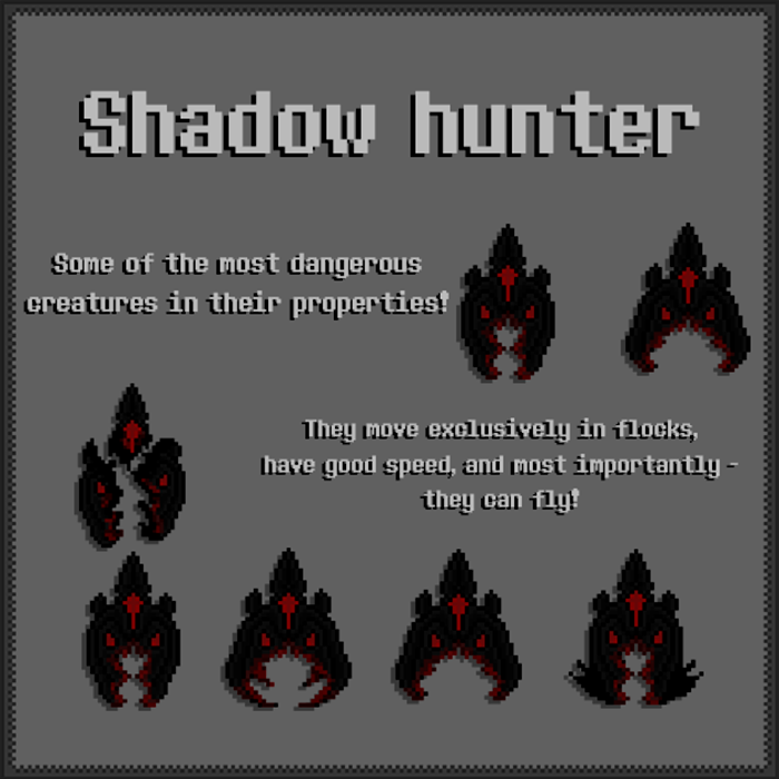 Shadow Hunter – Mob Asset