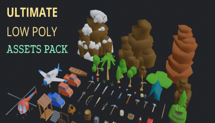 Ultimate Low Poly Assets Pack