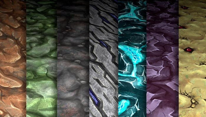 Stylized Rock Vol 26 – Hand Painted Texture Pack