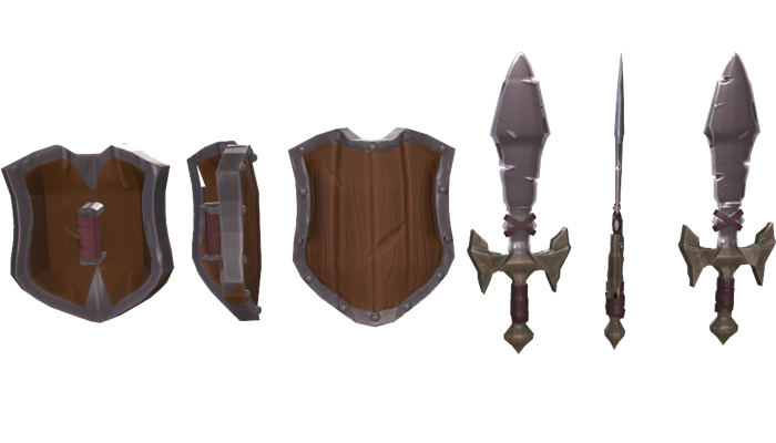 PBR Fantasy Weapons01