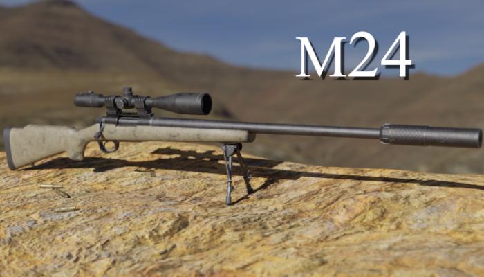 M24 Sniper Rifle PBR