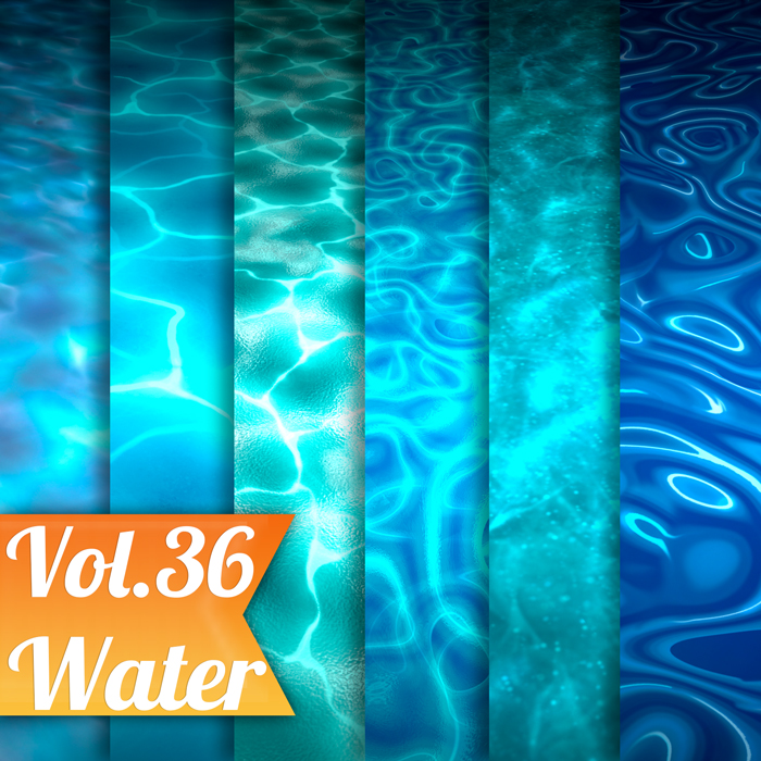 Stylized Water Vol 36 – Hand Painted Textures