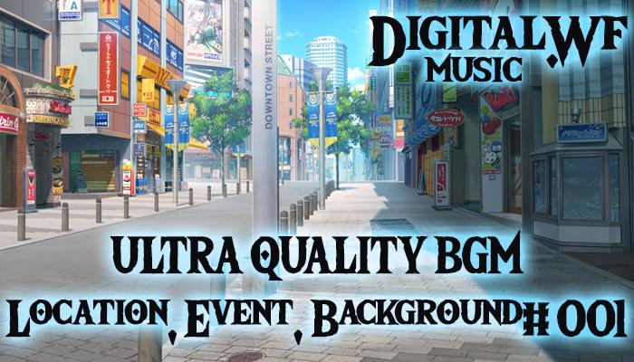 DigitalWF Ultra Quality GAME BGM – Location, Event, Background #001