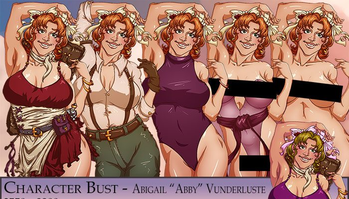 "Abigail ""Abby"" Vunderluste Character Bust"