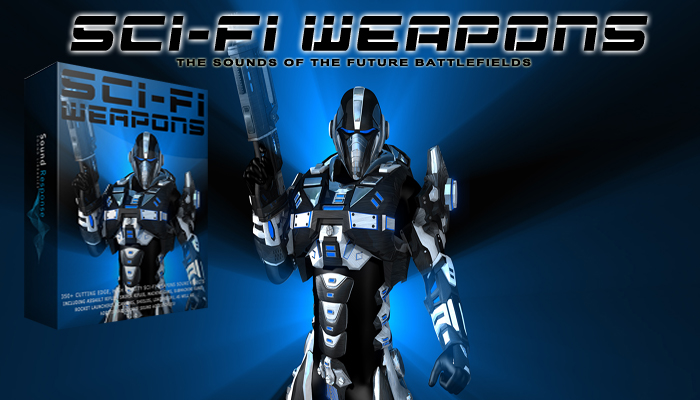 Sci-Fi Weapons – Laser Guns & Cyber Weapon SFX