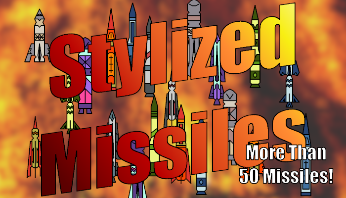 2D Stylized Missiles