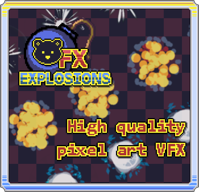 BearFX Explosions | Pixel Effect Pack