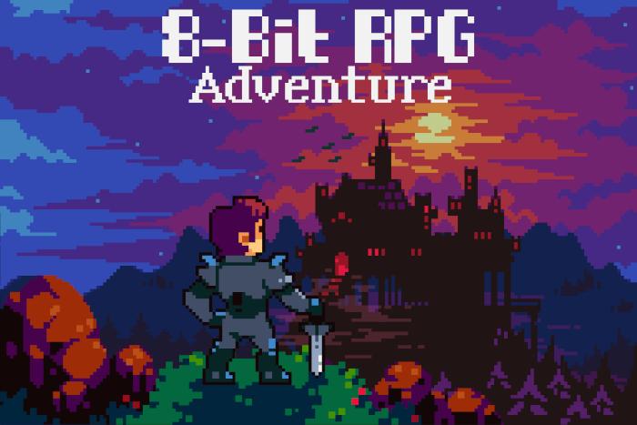 8-Bit RPG Adventure Music Pack