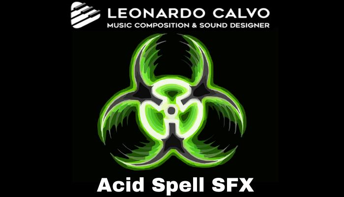 Acid Spell SFX