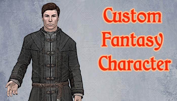 Custom Fantasy Character #1