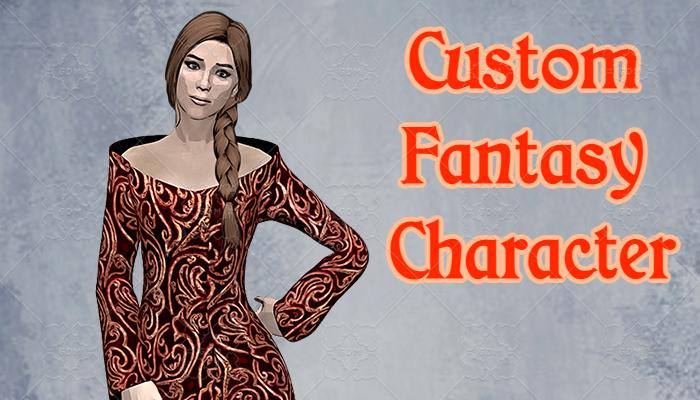 Custom Fantasy Character #2