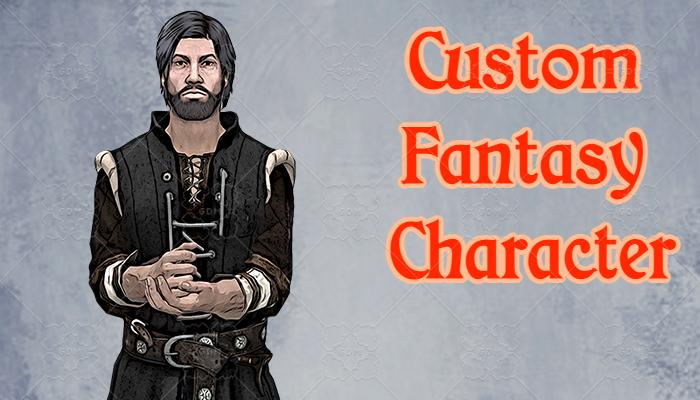 Custom Fantasy Character #3