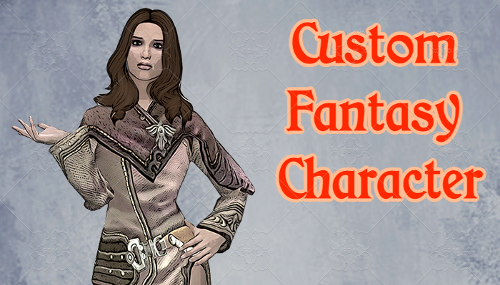 Custom Fantasy Character #4