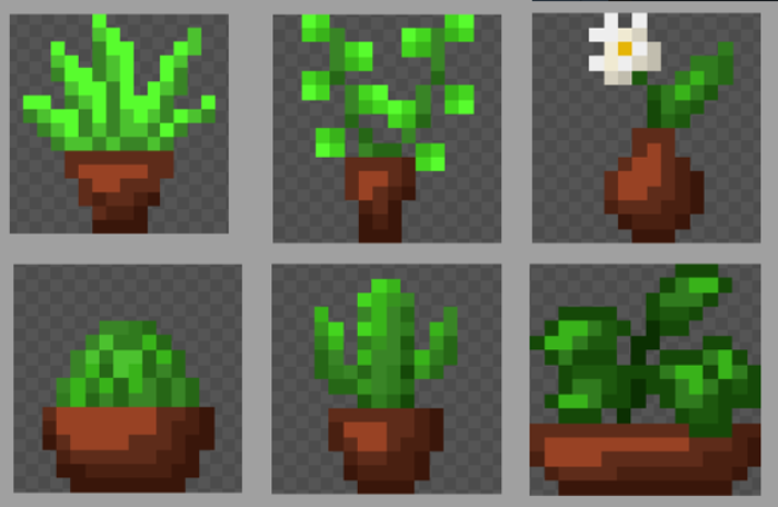 Potted Plants [16x16px]