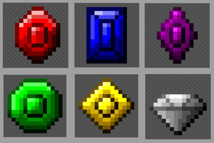 Gems [16×16 px]