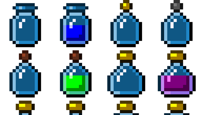 Potions [16×16 px]