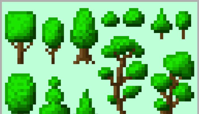 Trees [16×32 px]