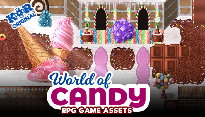 World of Candy RPG Tileset